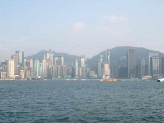 Kowloon Shangri-La Hong Kong: View from our room!