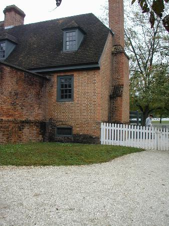 Colonial Williamsburg: Outside of Gaol (Jail ) Building