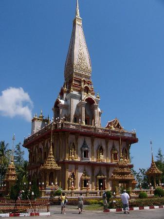 Phuket, Thailand: Temple