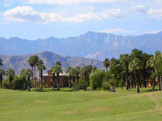 Palm Desert, Californië: Marriot Desert Springs (Palm) - 10th hole