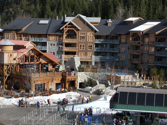 View from First Tracks Lodge