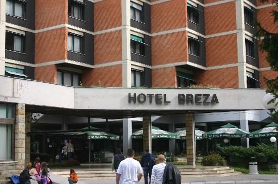 Vrnjacka Banja, Serbia: Hotel's entrance