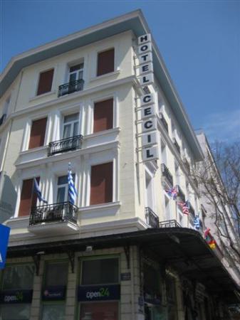 Renovated neoclassical Cecil Hotel