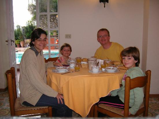 Hotel Villa Sarah: Wonderful Breakfast