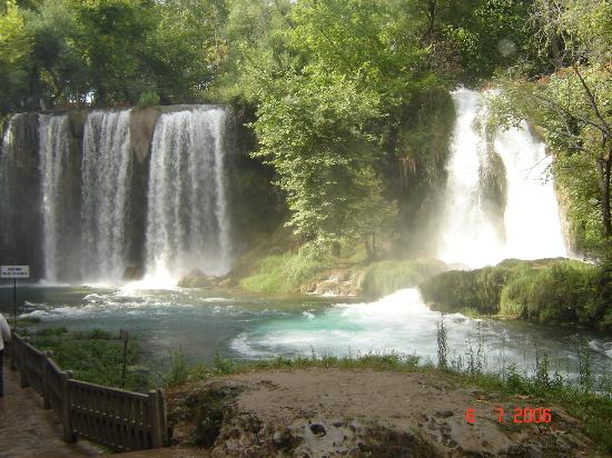 Antalya, Turcja: waterfalls