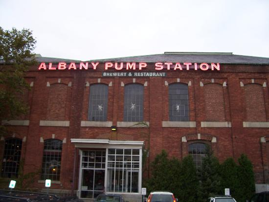 Albany Pump Station Ch Evans Brewing Co Menu Prices