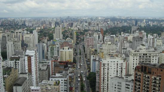 Tivoli Mofarrej - Sao Paulo : View from the restaurant on top floor
