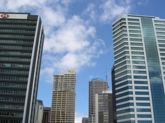 Auckland Central, Nueva Zelanda: Skyscrapers in Auckland