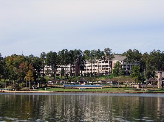 The Ritz-Carlton Reynolds, Lake Oconee: View of the resort from the lake