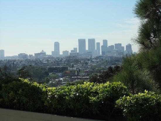 Chamberlain West Hollywood: view from pool to century city