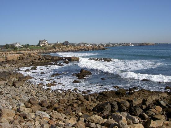 Cape Ann seashore view