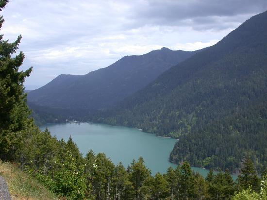 Olympic National Park, วอชิงตัน: Lake