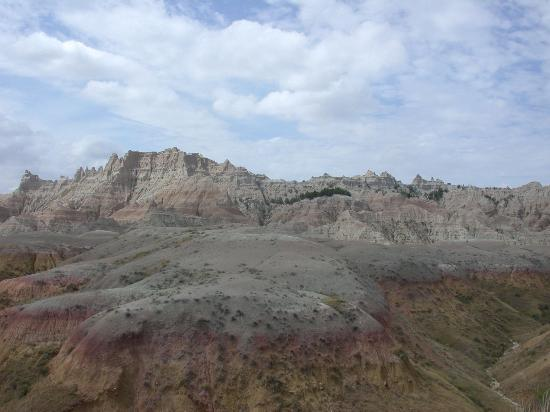 Badlands National Park-bild