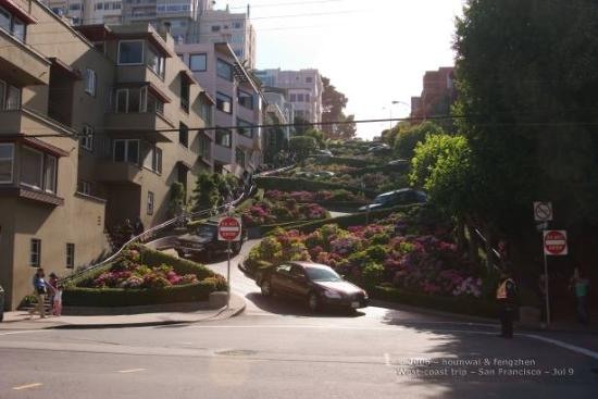 San Francisco Bay: lombard st.