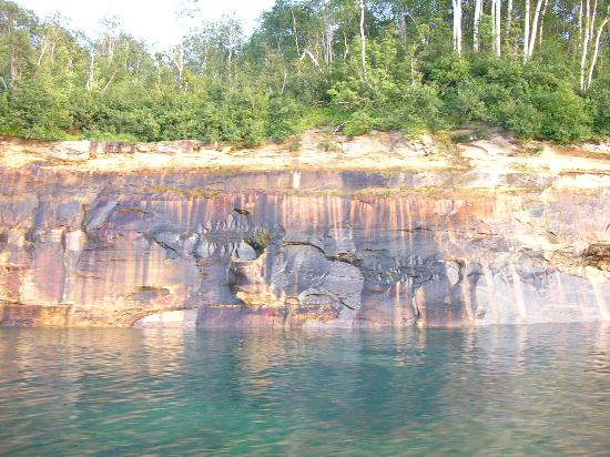 Pictured Rocks National Lakeshore : Bears claw!