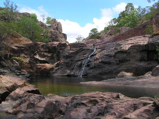 Park Narodowy Kakadu, Australia: A gorgeous swimming hole in Kakadu.
