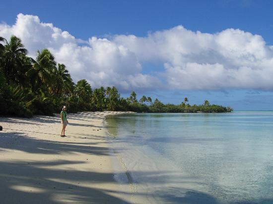 Aitutaki, Cook Adaları: Akiama Motu