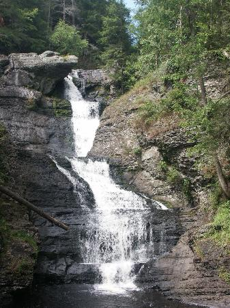 Delaware Water Gap, Pensylwania: The water fall