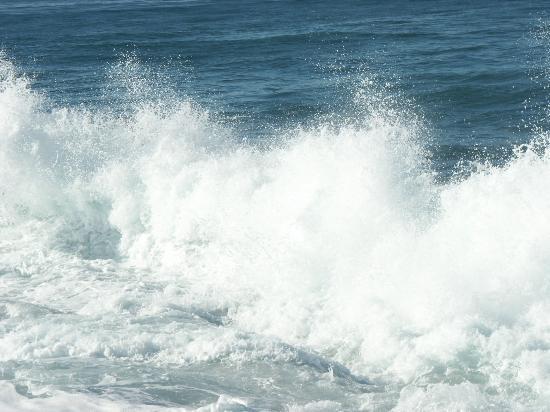 San Diego, Californie : The wave