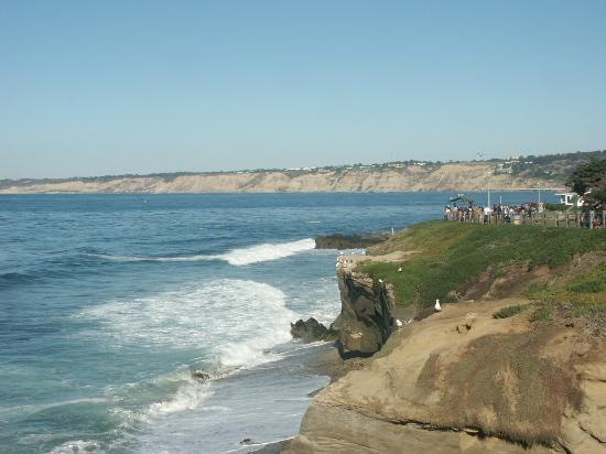 San Diego, Californie : The shore line