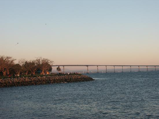 San Diego, Californie : The bridge