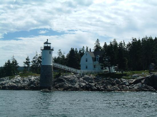 Acadia Nationalpark, ME: Isle au Haut Lighthouse