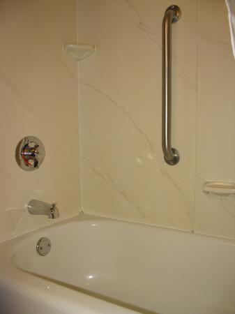 Hampton Inn La Porte: Bathtub