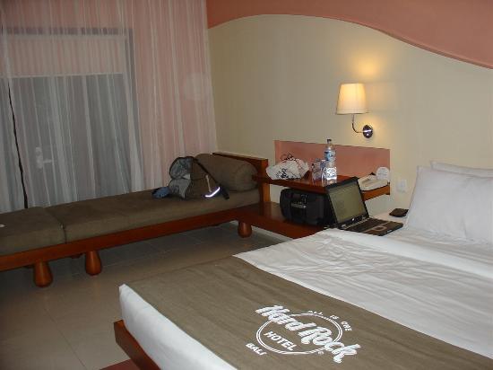 Hard Rock Hotel Bali: the room