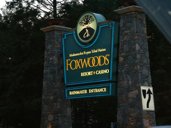 Mashantucket, Коннектикут: Entrance to Foxwoods