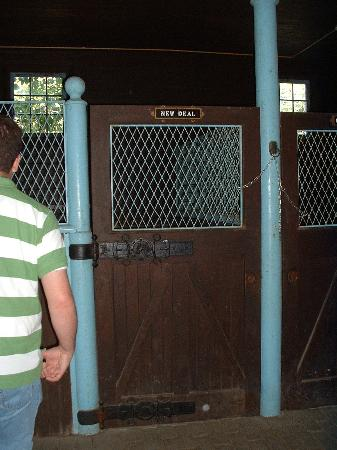 "Franklin Delano Roosevelt Home : ""New Deal"" Horse Stall"