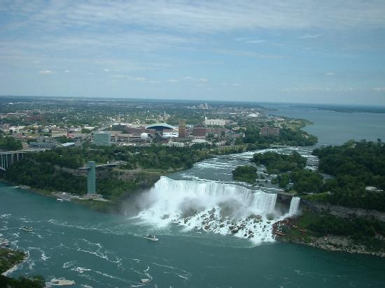 Wodospad Niagara, Kanada: Breath taking views