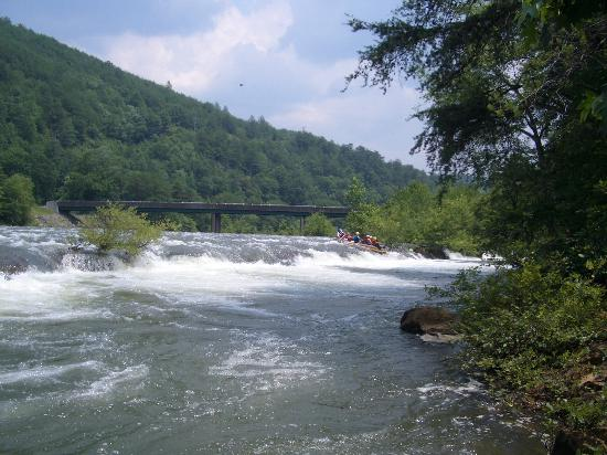 Tennessee: Rafting the Middle Ocoee River, TN