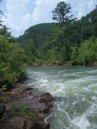 Tennessee: The beautiful Ocoee River, TN