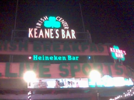 Jardin del Atlantico: Keanes bar!