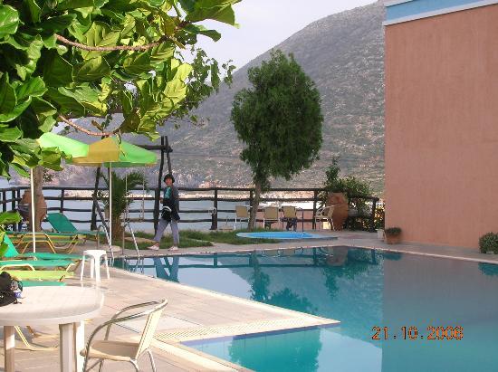 Ormos Atalia Aparthotel: Pool Area