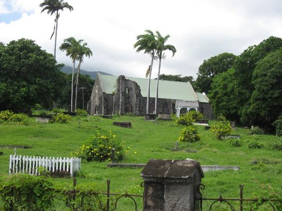 St. Kitts and Nevis: Sir Thomas Warner's Tomb