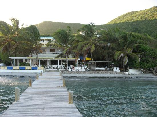 St. Kitts og Nevis: The Turtle beach Restaurant