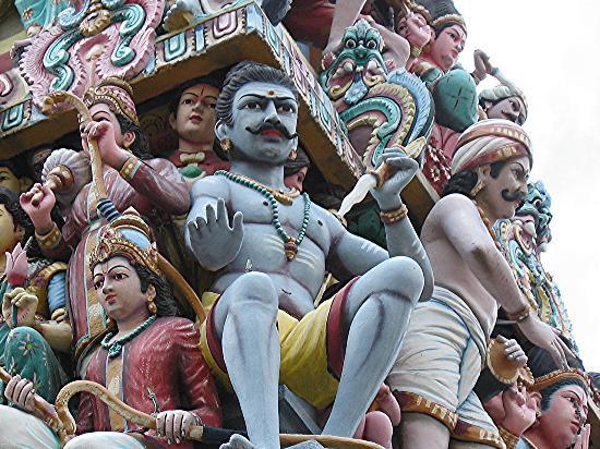 Singapur, Singapur: Hindu Temple