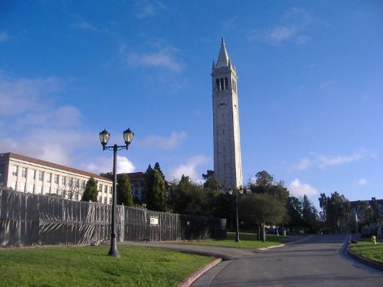 Berkeley, CA: This is a shot of the Campanile