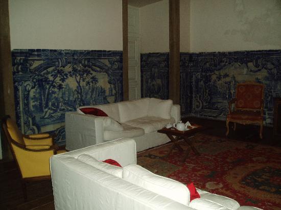 Palacio Belmonte: sitting room
