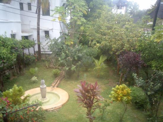 Lamu Island, เคนยา: giardino visto dalla camera