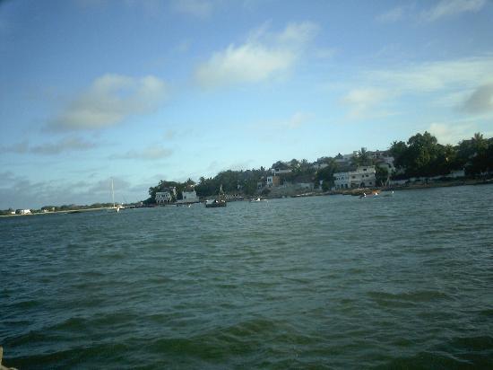 Lamu Island, เคนยา: veduta dalla barca di shila