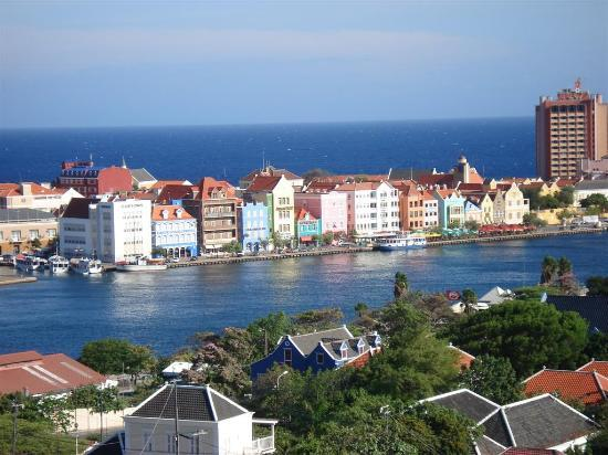Curacao: city view from bridge