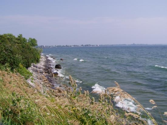 Alexandria Bay, NY: view from grounds at Tibbett's Point