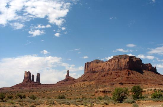 Parc national de Canyonlands, UT : Monument Valley