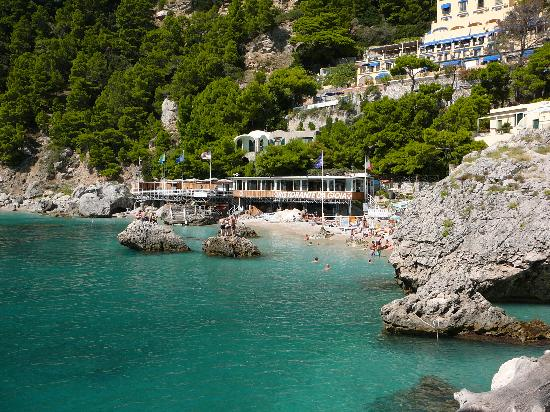 Capri, Italie : fantastic place for a swim