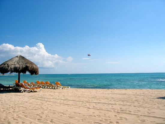 Playa Paraiso, Mexico: The beautiful beach