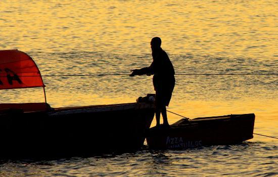 Stone Town, Tanzania: fisherman