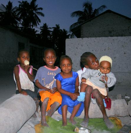 Zanzibar, Tanzania: children