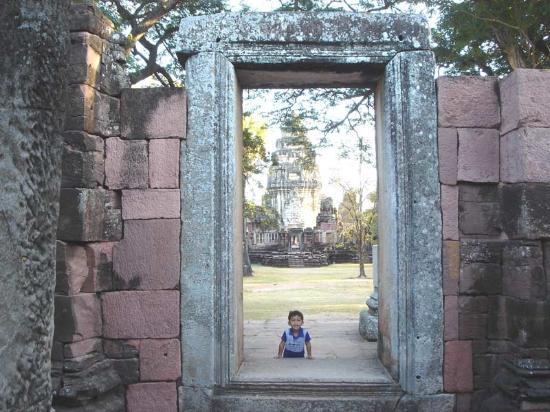 Nakhon Ratchasima, Tailandia: Khmer Doorway